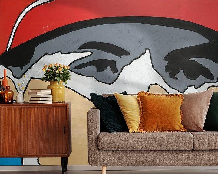 Sfeerimpressie behang: Max Verstappen van hou2use