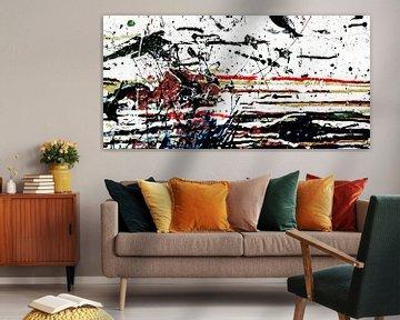 Abstrakte tropfende Farbe von Andie Daleboudt