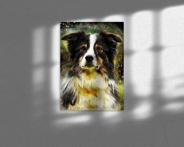 Hund 1 Tiere Kunst #Hund #Hunde von JBJart Justyna Jaszke