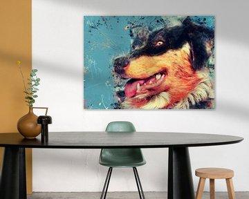 Dog 4 animals art #dog #dogs #dogs van JBJart Justyna Jaszke