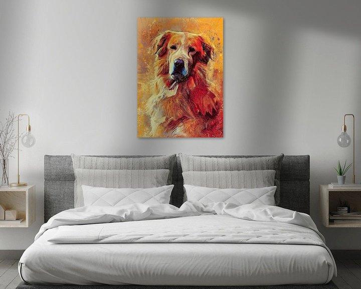 Impression: Dog 8 animals art #dog #dogs sur JBJart Justyna Jaszke