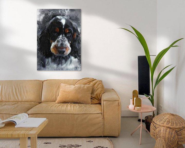 Beispiel: Hund 9 Tiere Kunst #Hund #Hunde von JBJart Justyna Jaszke