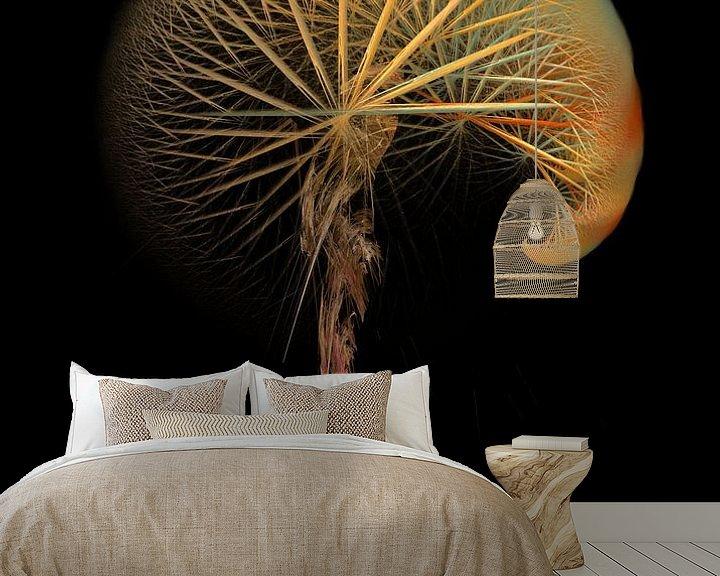 Beispiel fototapete: Fraktale abstrakte Kunst Pusteblume #Fraktale #Abstrakt von JBJart Justyna Jaszke