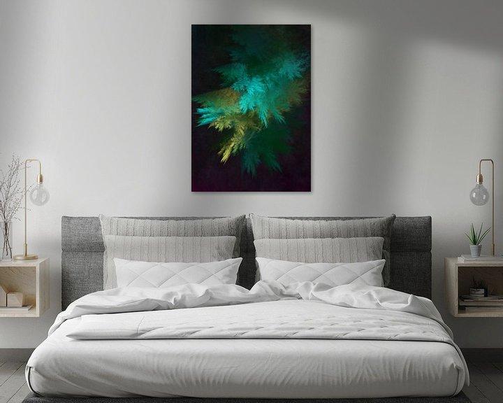 Beispiel: Fraktale abstrakte Kunst Wald 1 #Fraktale #Abstrakt von JBJart Justyna Jaszke