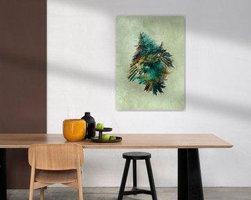 Fraktale abstrakte Kunst Baum #Fraktale #Abstrakt von JBJart Justyna Jaszke