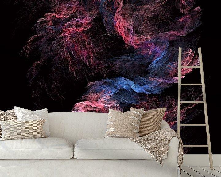 Beispiel fototapete: Fraktale abstrakte Kunst Tornado #Fraktale #Abstrakt von JBJart Justyna Jaszke