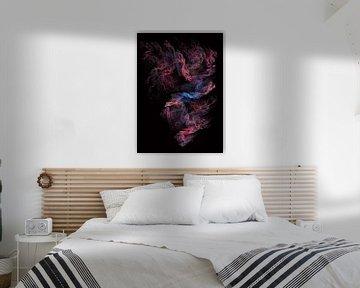 Fraktale abstrakte Kunst Tornado #Fraktale #Abstrakt von JBJart Justyna Jaszke