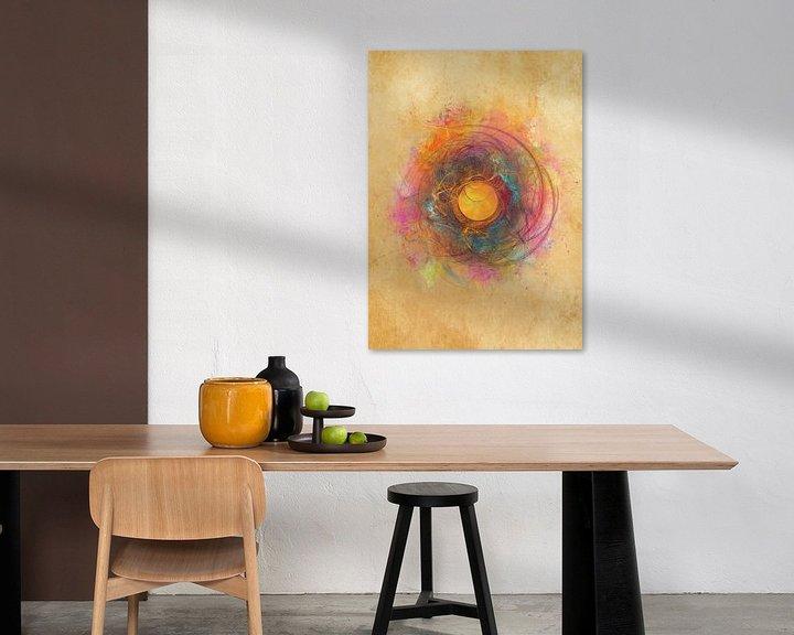 Beispiel: Fraktale abstrakte Kunst Sonne #Fraktale #Abstrakt von JBJart Justyna Jaszke