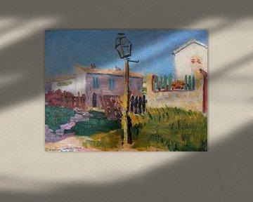 Die Straßenlaterne, Albert Marquet