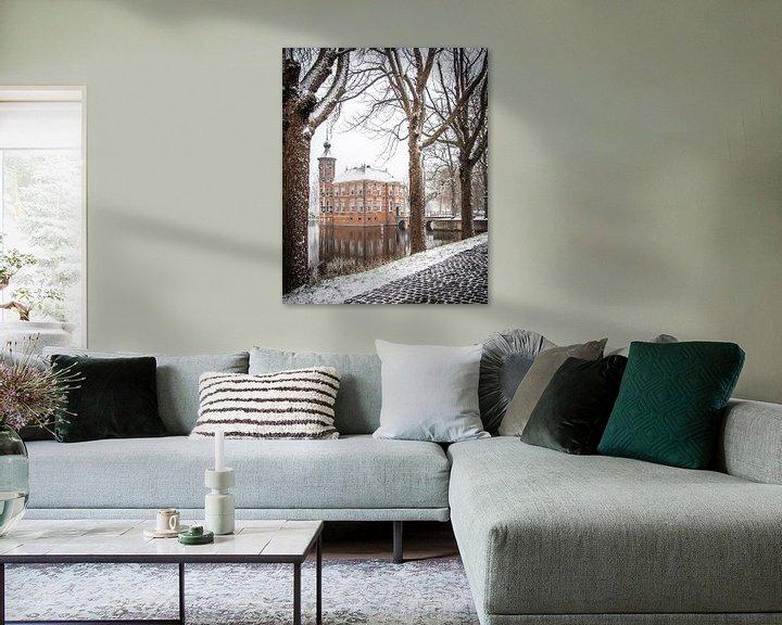 Sfeerimpressie: Winter in Breda, Kasteel Bouvigne van I Love Breda
