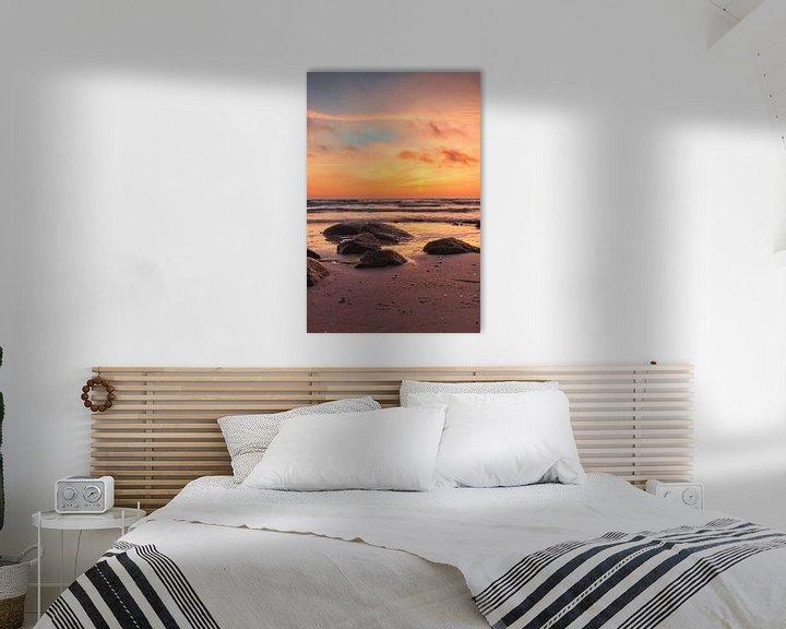 Beispiel: Sonnenaufgang über der Ostsee von Dorfworker
