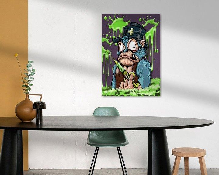 Sfeerimpressie: Monkey nurse van Jos Laarhuis