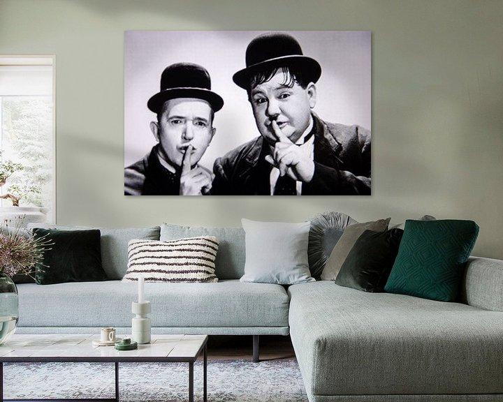 Sfeerimpressie: Stan Laurel And  Oliver Hardy van Brian Morgan