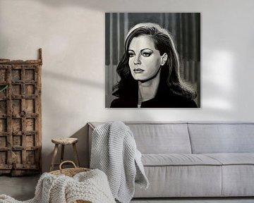 Romy Schneider Schilderij van Paul Meijering