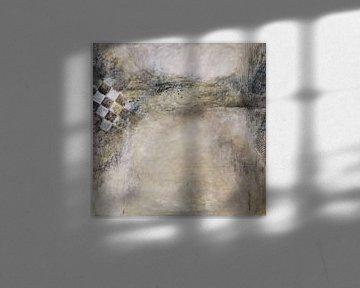 Schaakmat, abstract van Linda Dammann