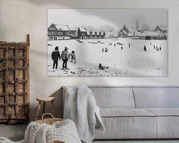 Park Zuidsingel als Winterspielplatz von Percy's fotografie