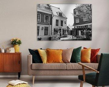 Blick auf ein winterliches Middelburg von Percy's fotografie