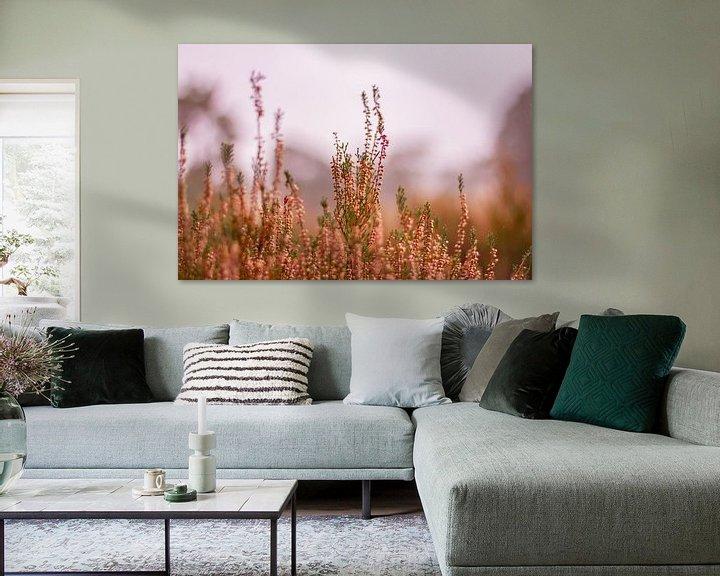 Sfeerimpressie: Herfstglorie van de Veluwe - Heide nr. 2 van Deborah de Meijer