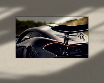 Linienspiel McLaren P1 von Ricardo van de Bor