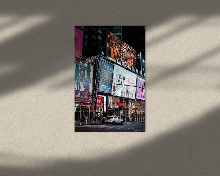 Sfeerimpressie: New York, Times Square van Suzanne Brand