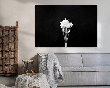 Schaum auf einem Schneebesen von Corrine Ponsen