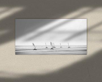 Strandsegler am Meer von Heiko Westphalen