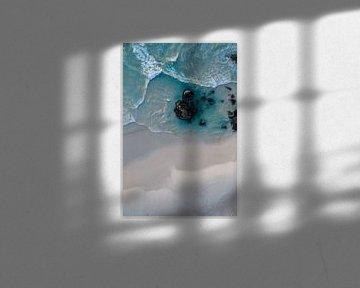Blue Ocean in Kaapstad van Joelle Molenaar