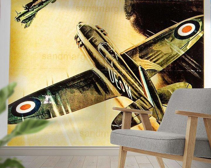 Impression: Affiche de recrutement pour la RAF sur Brian Morgan