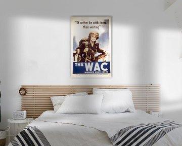 Wervingsposter voor de WAC