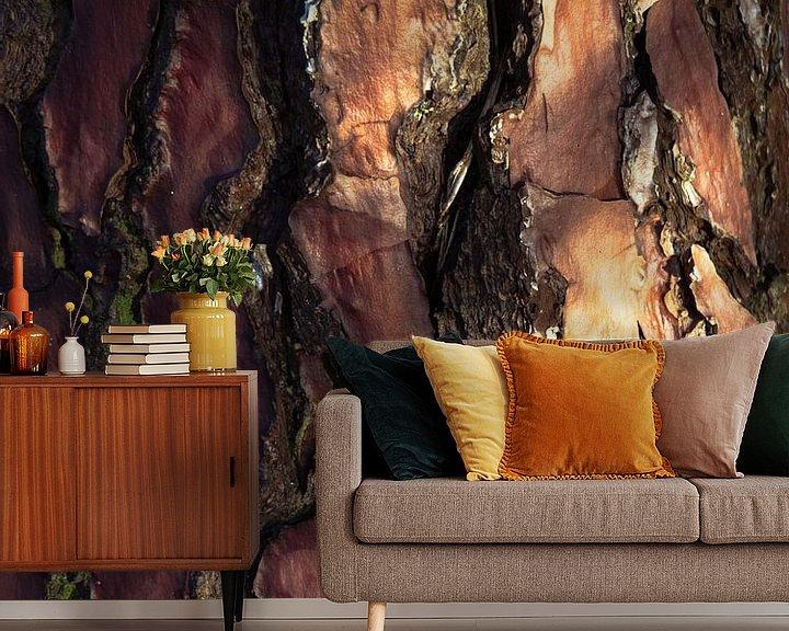 Beispiel fototapete: Baumrinde von Martijn Tilroe