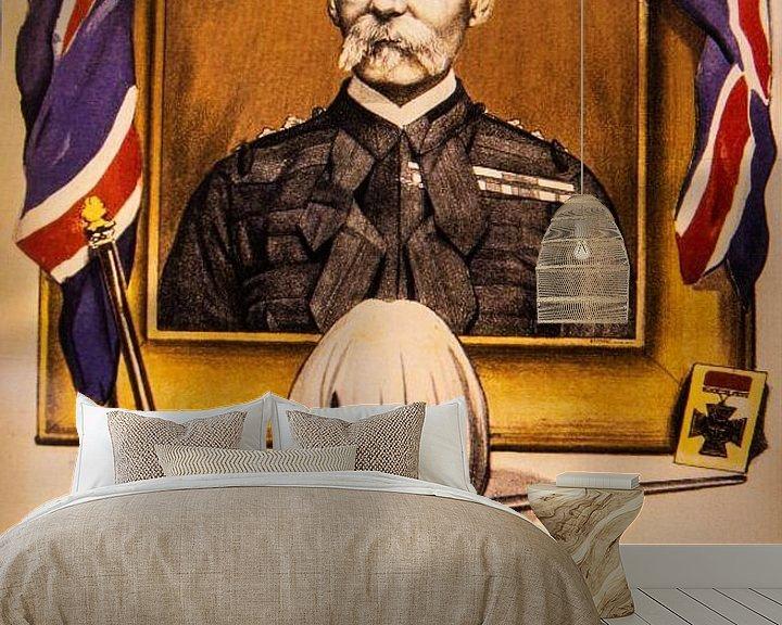 Sfeerimpressie behang: Werving poster WWI van Brian Morgan