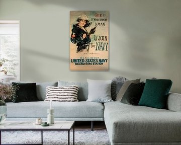 United States Navy poster