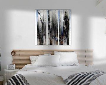 Abstrakte Holztür von Maurice Dawson