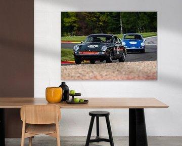 Porsche 911 bei Spa Francorchamps Spa Classic von Bob Van der Wolf