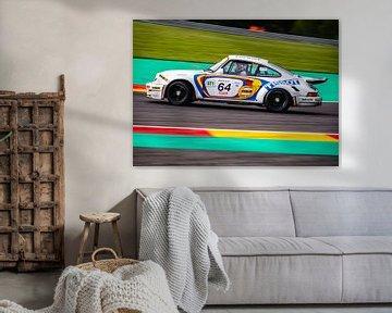 Porsche 911 op Spa Francorchamps Spa Classic van Bob Van der Wolf