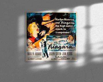 Filmposter Niagara met Marilyn Monroe