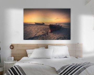 Fischerboote am Strand von Skyze Photography by André Stein