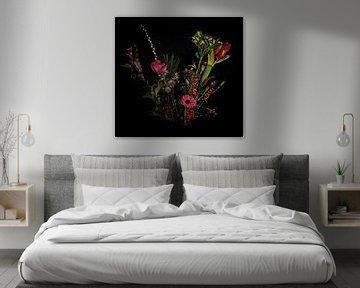 Stilleben Blumenstrauß von Marjolein van Middelkoop