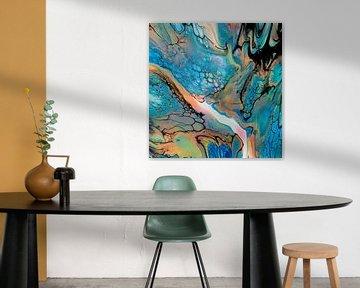 turquoise waters van Suzanne Van Gompel