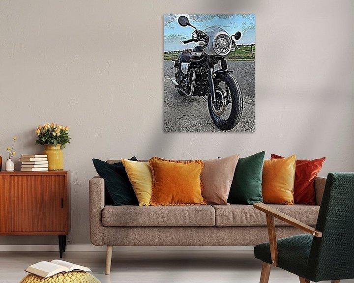 Sfeerimpressie: Kawasaki motorfietsen van Jan Radstake