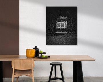 Het Keurvorstelijk Paleis van Trier vanuit de tuin - Reisfotografie Moezelregio - Duitland van Tim Goossens