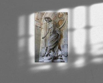 """Ange (femme) dans le """"Cimitero monumentale di Staglieno&quot ;, l'un des plus grands ci sur Joost Adriaanse"""