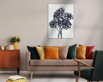 Blumenstrauß 2 von Maria Kitano