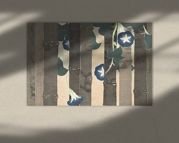 Blaue Winde von Kamisaka Sekka, 1909