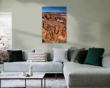 Bryce Canyon in Utah im Winter von Eva Rusman