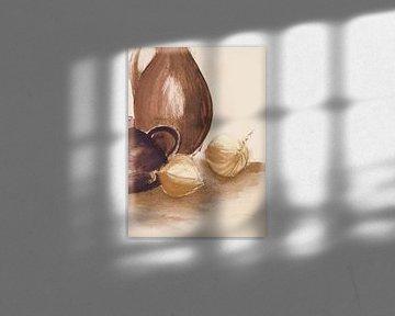 Kannen en uien 1 toon op toon van Claudia Gründler