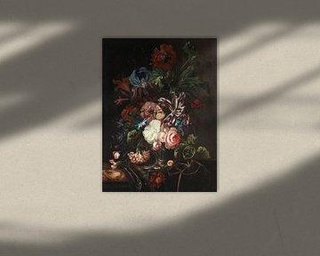 ERNST STUVEN, Stillleben mit Blumen von Atelier Liesjes