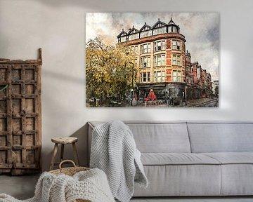 Manchester aquarelkunst #Manchester van JBJart Justyna Jaszke