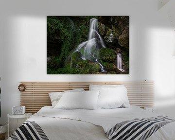 Lichtenhainer waterval in Saksisch Zwitserland van Marc-Sven Kirsch