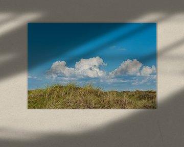 Hollandse wolkenlucht van Peter van den Bosch